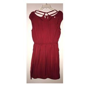 BCBG crimson dress